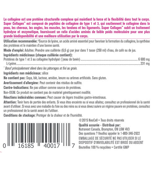 NeoCell_SuperCollagen_Label_198g_FRE