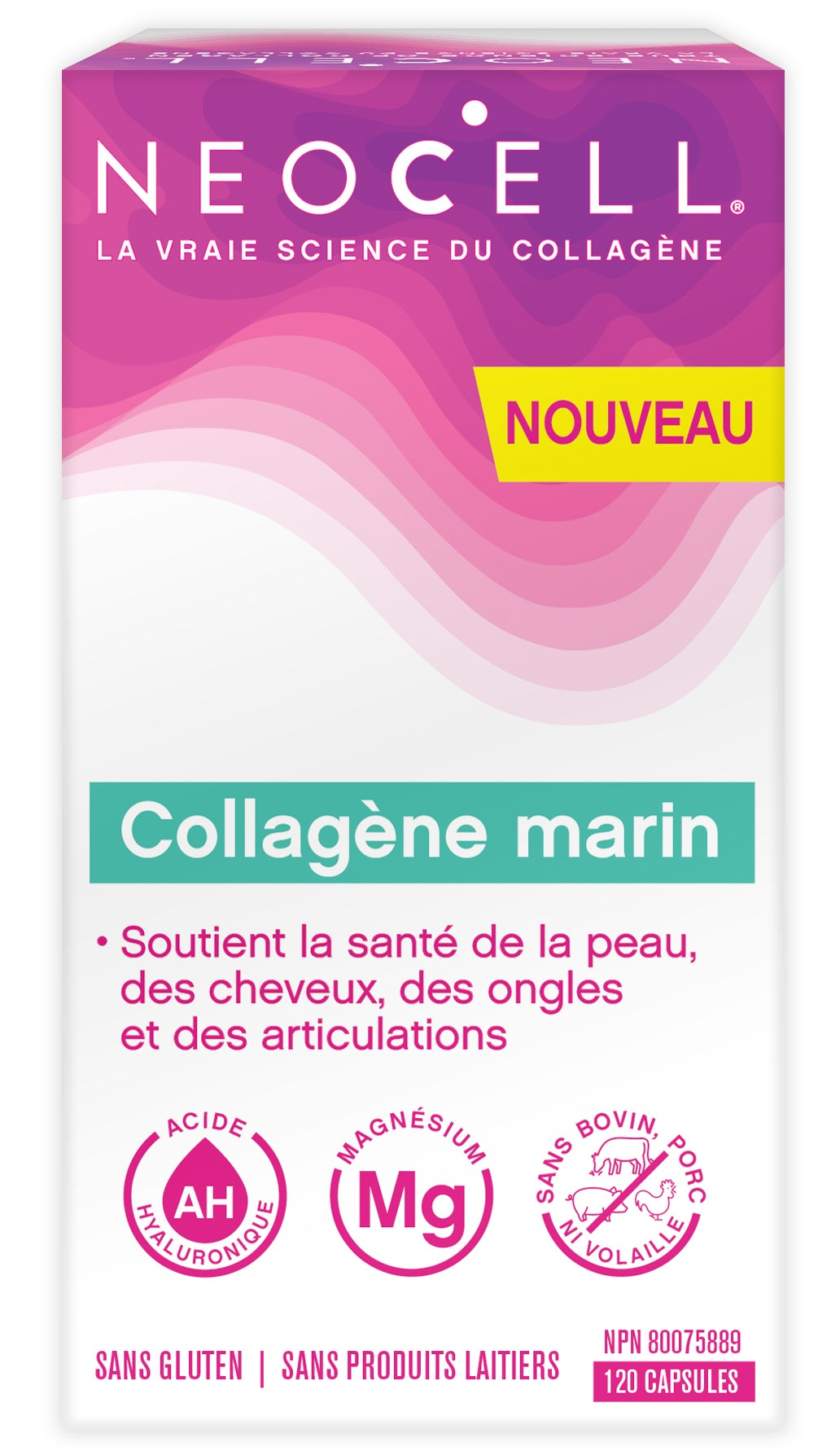 NeoCell Marine Collagen Caps FRE